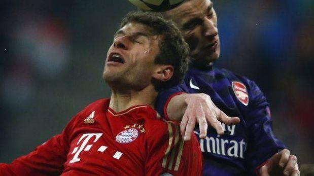 Champions League: Bayern Múnich perdió 2-0 con Arsenal pero clasificó a cuartos de final
