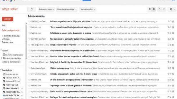 Google Reader cierra hoy: aquí diez opciones para reemplazarlo