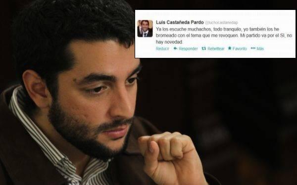 """Hijo de Castañeda sobre audio de su padre: """"Demuestra discurso consistente"""""""