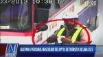 Todos los policías de tránsito de Lima Este fueron removidos de sus cargos - Noticias de amadeo morales candiotti