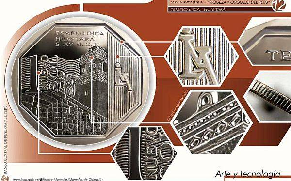 Conoce la nueva moneda coleccionable de S/.1 que hoy entra en circulación