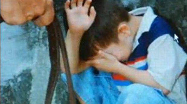 Arequipa: detienen a mujer por golpear a sus hijos con un fierro y un cactus