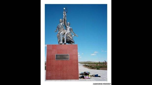 FOTOS: ¿Cómo es la vida en la frontera entre China y Rusia?