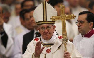 Lee la homilía del Papa Francisco en misa del Jueves Santo