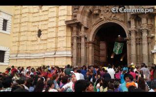 Semana Santa: limeños realizan el recorrido de las siete iglesias en el Cercado