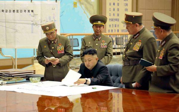 Foto muestra plan militar en medio de amenazas de Corea del Norte a EE.UU.