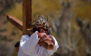 FOTOS: las distintas escenificaciones de la Pasión y Muerte de Cristo en el mundo