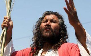 'Cristo cholo' anunció su retiro luego de 33 años realizando el Vía Crucis