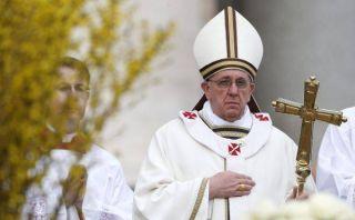 Papa Francisco pidió paz en la península coreana en su primera Pascua