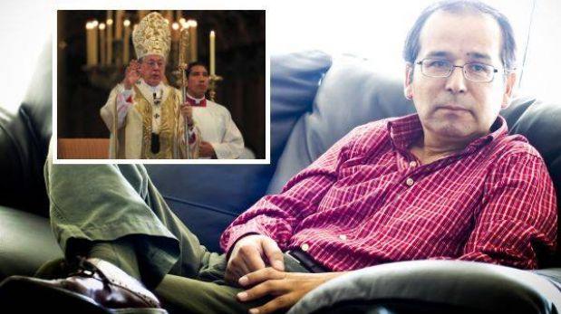 """Ronald Gamarra calificó al Cardenal Cipriani como """"abogado de Alberto Fujimori"""""""
