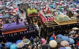 España: la tradicional celebración de la Semana Santa Ferrolana