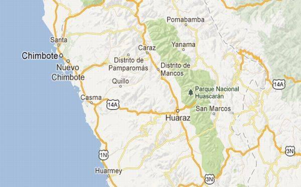 Sismos sacudieron Chimbote, Pozuzo y Acarí pero no se reportan daños