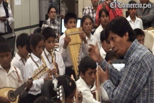 VIDEO: los impresionantes niños músicos de la Orquesta de ... - El Comercio