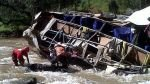 Mortal accidente de bus en La Libertad: cifra de muertos llegó a 33 - Noticias de luis puell