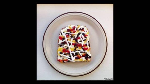 FOTOS: mira unas tostadas que son una obra de arte