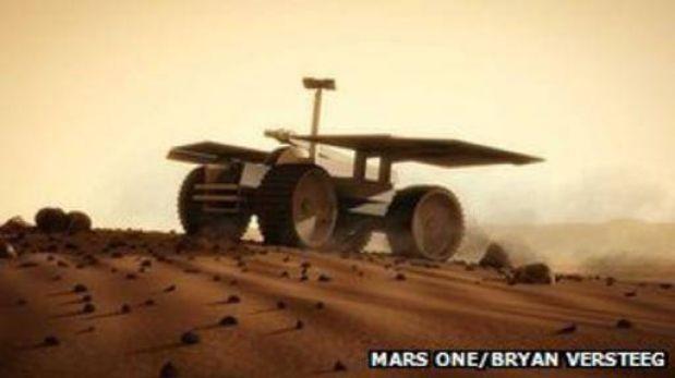 Viaje sin retorno a Marte... ¿te apuntas?