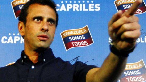 """Capriles: Maduro quiere tapar su """"desastre de gobierno"""" con asilo a Snowden"""