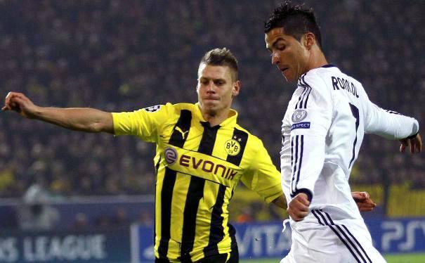 Borussia Dortmund goleó 4-1 al Real Madrid y lo dejó cerca de la eliminación