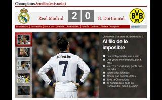 FOTOS: así lamentó la prensa española la eliminación del Real Madrid de la Champions League