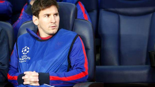 ¿Por qué Lionel Messi no jugó ante el Bayern Múnich en el Camp Nou?