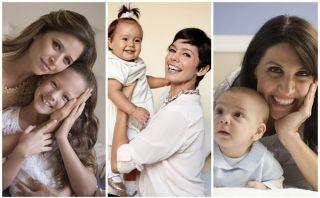 Tres famosas con hijos de distintas edades cuentan sus experiencias como madres