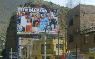 Koko Giles sigue prófugo pero aún hace publicidad en las calles y en TV