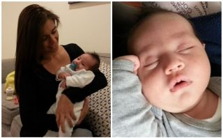 VIDEO: Verónica Linares presentó a su primogénito Fabio