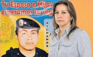 Viuda del mayor Bazán afirma que ella y sus tres hijas son maltratadas por la PNP