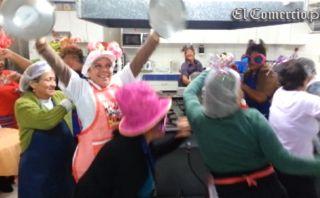 VIDEO: mamás de la tercera edad celebraron el Día de la Madre bailando el Harlem Shake