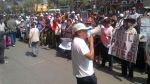 Comerciantes de La Parada protestan frente a juzgado en Av. Abancay - Noticias de tania huancahuire
