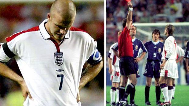 David Beckham y el año que fue odiado por Inglaterra