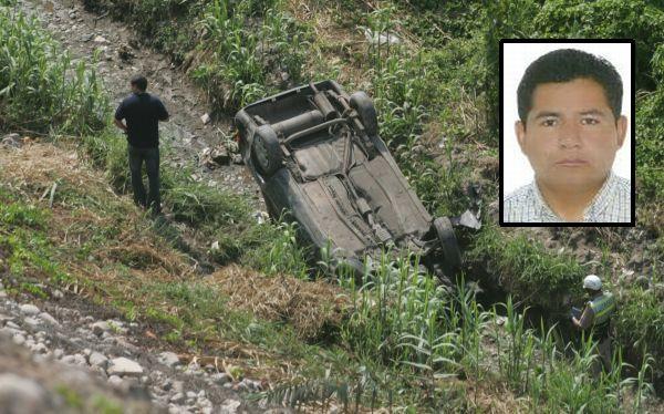 Ayacucho: alcalde de Otoca murió tras volcarse vehículo en el que viajaba