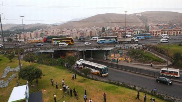 Obras en el puente Alipio Ponce tienen un mes de atraso