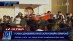 Casma: restos de comerciante asesinado a balazos fueron sepultados - Noticias de alberto covenas sernaque