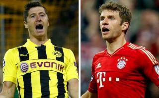 Lewandowski vs. Müller: duelo de goleadores en la final de la Champions