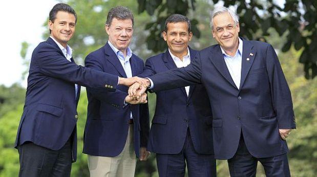 Líderes de la Alianza del Pacífico acordaron liberar el 90% de su comercio