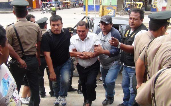 Amazonas: detienen a alcalde sospechoso de muerte de vicepresidente regional