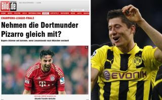 ¿Claudio Pizarro al Borussia Dortmund en reemplazo de Lewandowski?