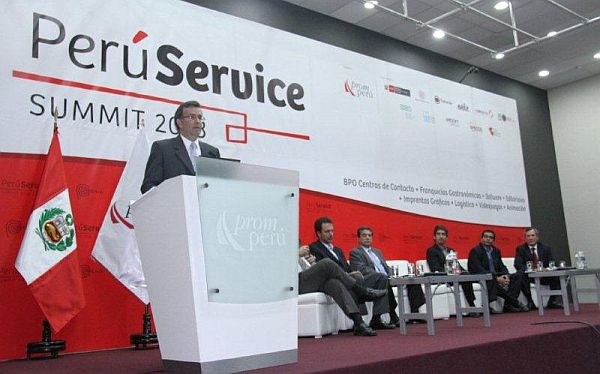 Perú Service Summit 2013 generará divisas por US$50 millones