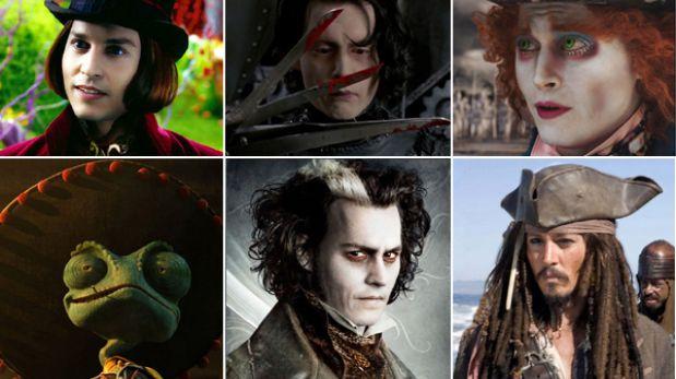 ENCUESTA: ¿Cuál es tu personaje favorito de Johnny Depp?