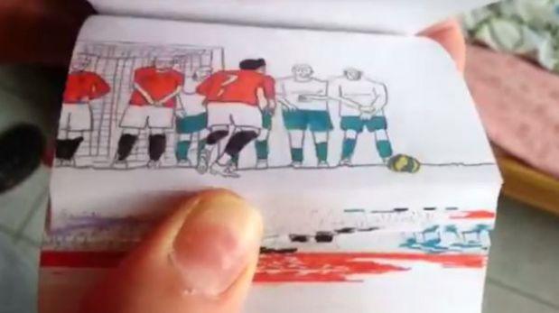 VIDEO: Cristiano Ronaldo y la sorprendente animación de sus mejores jugadas