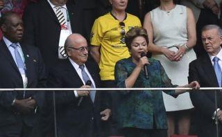 Rousseff y Blatter: comando Brasil 2014 en el ojo de la crítica popular