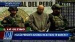 Armas con alcance de 800 metros y visores nocturnos fueron incautadas en Cieneguilla - Noticias de ricardo penuela gomez