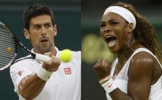 Novak Djokovic y Serena Williams no dan tregua en Wimbledon
