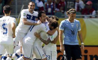 Italia venció 3-2 a Uruguay en tanda de penales y quedó en tercer lugar