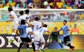 VIDEO: el golazo de Cavani en el Uruguay-Italia por el tercer puesto