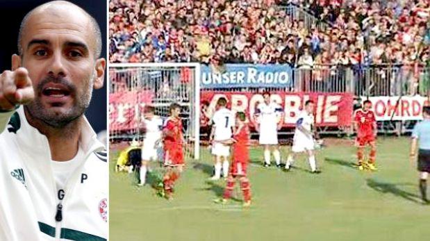 Bayern Múnich de Guardiola golea también en su segundo amistoso