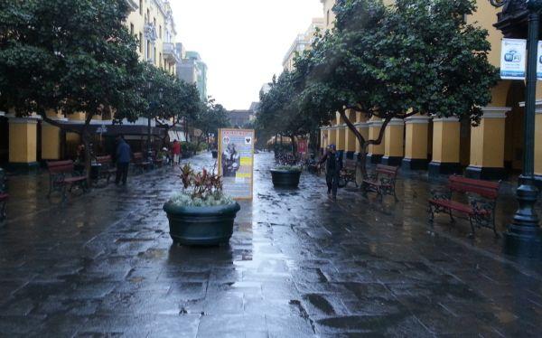 Llovizna en Lima y Callao: la humedad alcanzó hoy el 100%