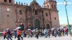 Cusco: trabajadores estatales marcharon hacia el centro histórico - Noticias de julia tevez