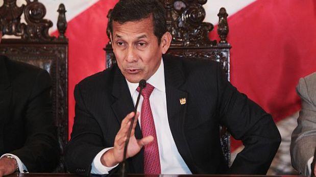 """Humala defiende Ley del Servicio Civil: """"Soy enemigo de los despidos masivos"""""""
